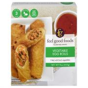 Feel Good Foods Gluten Free Vegetable Egg Rolls