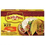 Old El Paso Hard & Soft Shell Taco Dinner Kit with 6 Taco