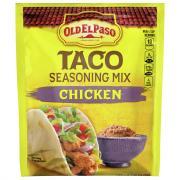 Old El Paso Taco Seasoning Mix Chicken