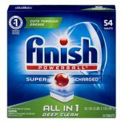 Finish Power Ball Fresh Scent Dishwasher Detergent Tabs