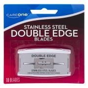CareOne Stainless Steel Double Edge Blades