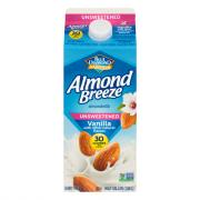 Blue Diamond Almond Breeze Almondmilk Unsweetened Vanilla