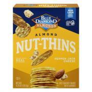 Blue Diamond Almond Pepper Jack Cheese Nut Thins