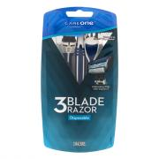 CareOne Men's 3-Blade Disposable Razor