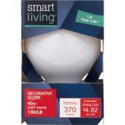 Smart Living 40w Soft White Decorative Globe