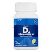 CareOne Vitamin D 2000 IU 50mcg Softgels