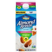 Blue Diamond Almond Breeze Almondmilk Unsweetened Original