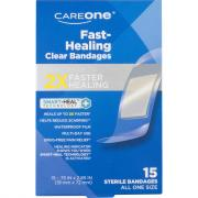 CareOne Fast-Healing Clear Sterile Bandages