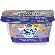 Almond Breeze Vanilla with Blueberry Flavored Almond Slices