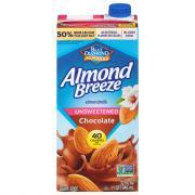 Blue Diamond Almond Breeze Unsweetened Chocolate Almondmilk