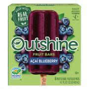 Nestle Outshine Acai Blueberry Fruit Bars