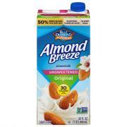 Blue Diamond Almond Breeze Original Unsweetened Beverage