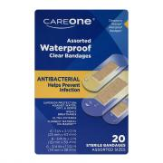 CareOne Assorted Antibacterial Waterproof Bandages