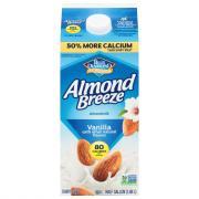 Blue Diamond Almond Breeze Vanilla Milk