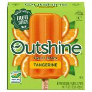 Nestle Outshine Tangerine Fruit Bars
