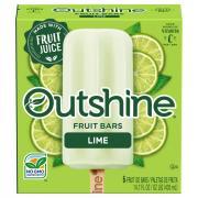 Nestle Outshine Lime Fruit Bars