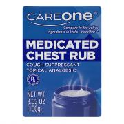CareOne Medicated Chest Rub