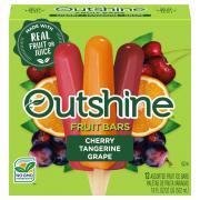 Outshine Cherry Lemon Grape Fruit Bars