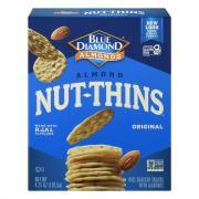 Blue Diamond Almond Nut & Rice Nut Thins