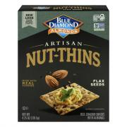Blue Diamond Flax Seed Artisan Nut Thins