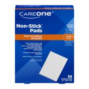 "CareOne 2"" x 3"" Nonstick Pads"