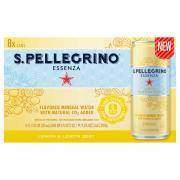 S.Pellegrino Essenza Lemon & Lemon Zest