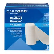 CareOne Premium Rolled Gauze