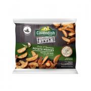 Cavendish Restaurant Style Garlic & Rosemary Potato Wedges