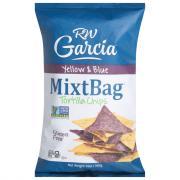 RW Garcia MixtBag Yellow & Blue Tortilla Chips