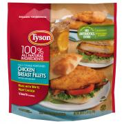 Tyson Breaded Chicken Breast Fillets