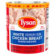 Tyson Canned Chicken Breast 2 Pack