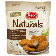 Tyson Gluten Free Breaded Chicken Breast Nuggets