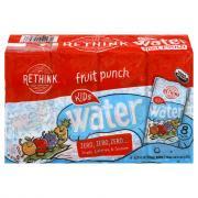 Rethink Organic Sugar Free Fruit Punch Water