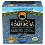 Aqua Vitea Organic Kombucha Blue Bernie