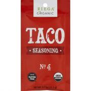 Riega Organic Tacos Seasoning No.4