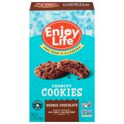 Enjoy Life Gluten Free Crunchy Double Chocolate Cookies