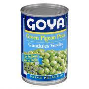Goya Low Salt Green Pigeon Peas