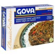 Goya Shredded Beef with Rice