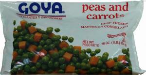 Goya Frozen Peas & Carrots