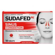 Sudafed PE Congestion Tablets
