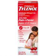 Children's Tylenol Pain + Fever Age 2-11 Years