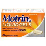 Motrin IB Liquid Gels