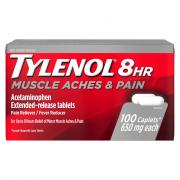 Tylenol 8-Hour Muscle Aches & Pain Caplets 650 mg