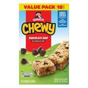 Quaker Chewy Chocolate Chip Granola Bar
