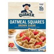Quaker Oat Squares Brown Sugar Cereal