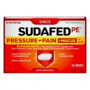 Sudafed PE Pressure/Pain Mucus
