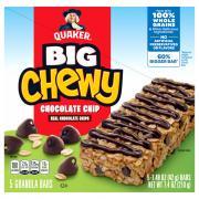 Quaker Big Chewy Chocolate Chip Granola Bars