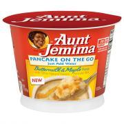 Aunt Jemima Pancake on the Go Buttermilk & Maple