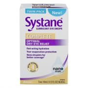 Systane Complete Lubricant Eye Drops Twin Pack