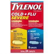 Tylenol Cold & Flu Severe Day & Night Caplets